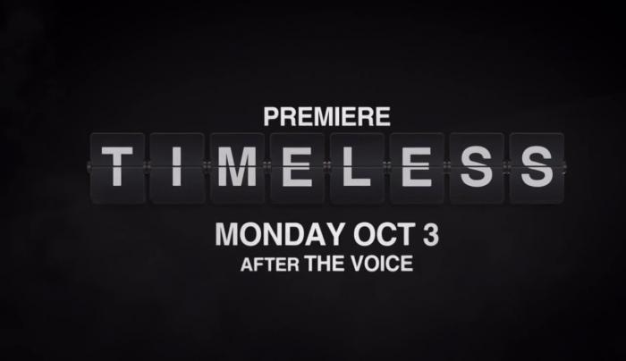 nouvelles promos Timeless  ,dans une semaine tic tac...