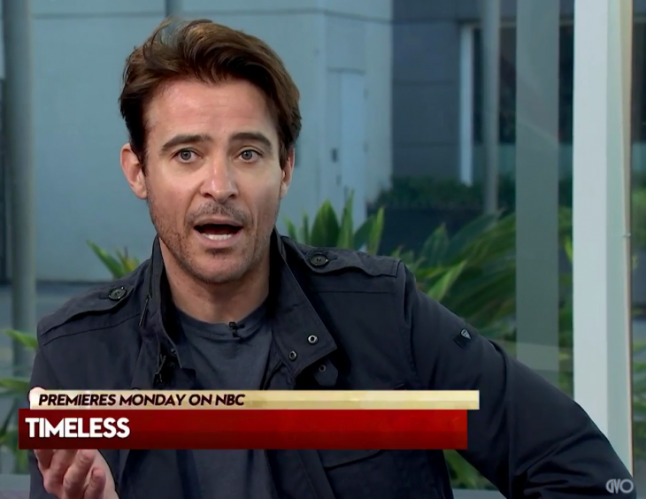 Hollywood Live Today interview pour Timeless