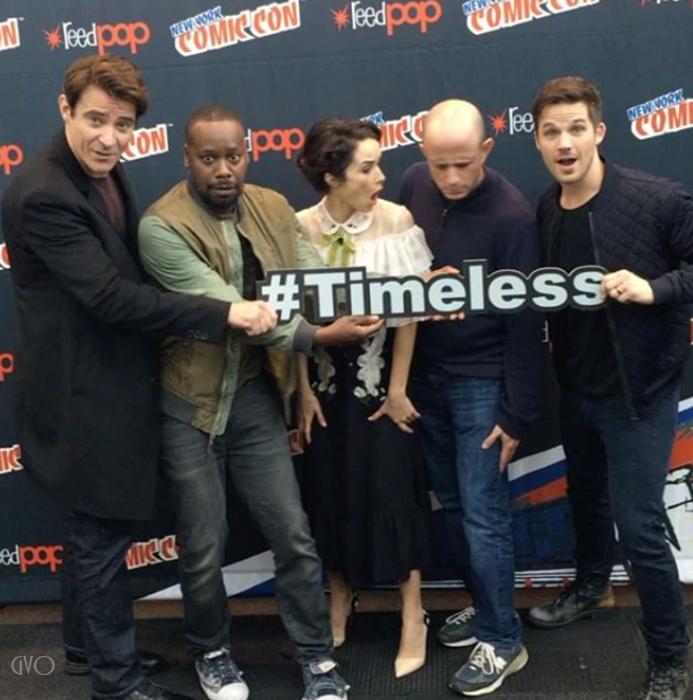 comic con  à New York pour Timeless #1