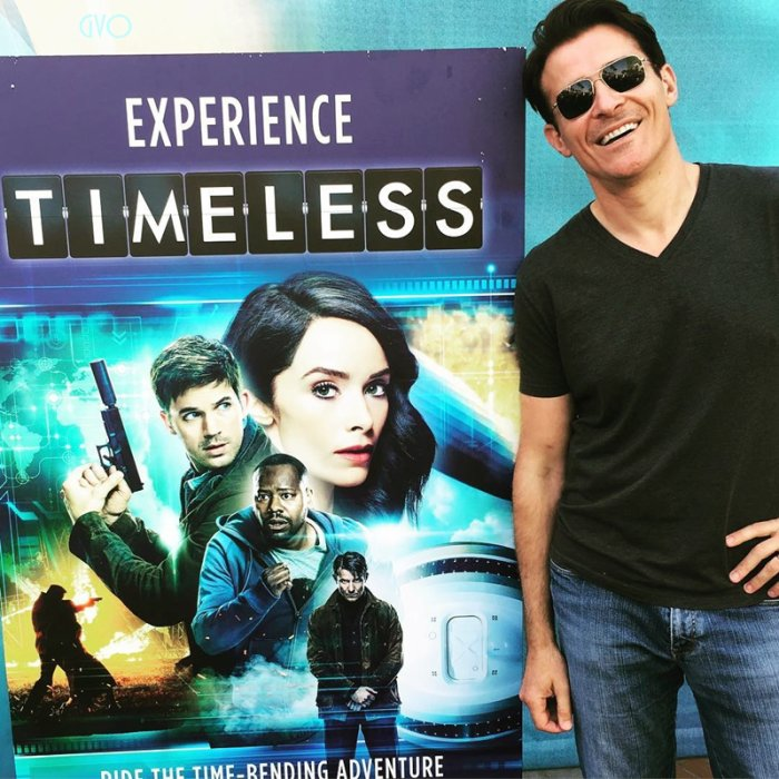 comic con  à New York pour Timeless hop autres interviews