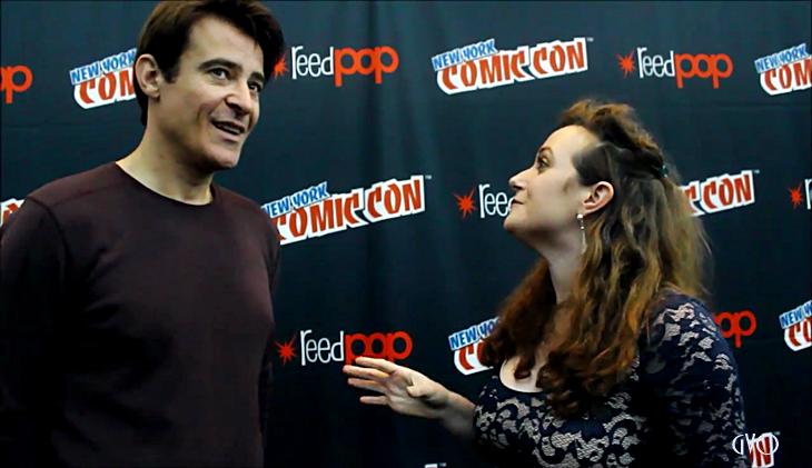 Comic con New York interview...