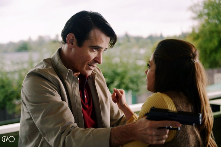 Goran dans le rôle de Garcia Flynn pour Timeless ,ep 8 et 9