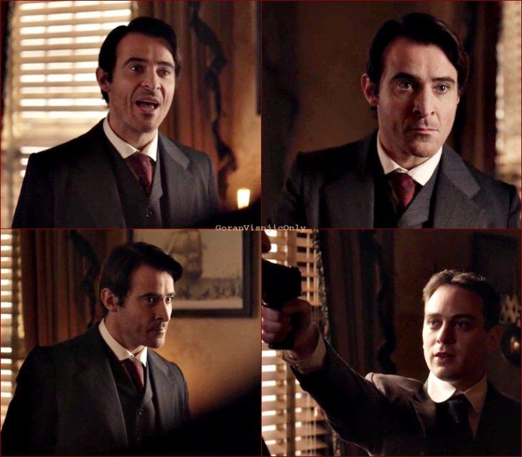 Timeless Episode 11 captures Garcia Flynn #6
