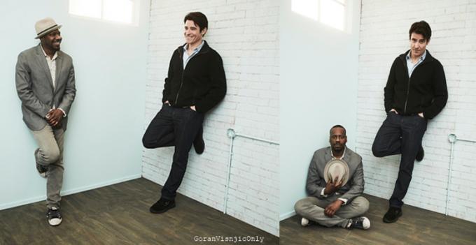 NBCUniversal Press Tour portrait studio at The Langham Huntington,CA
