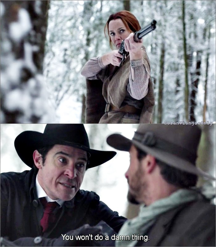 Timeless ep 12 The Assassination of Jesse James
