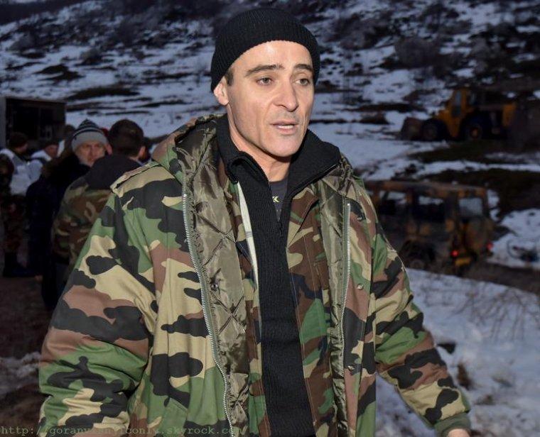 Goran dans le rôle du Général Ante Gotovina