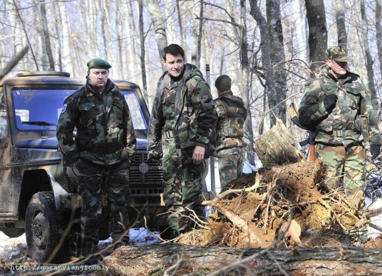 Photos de tournage pour General à Livno suite