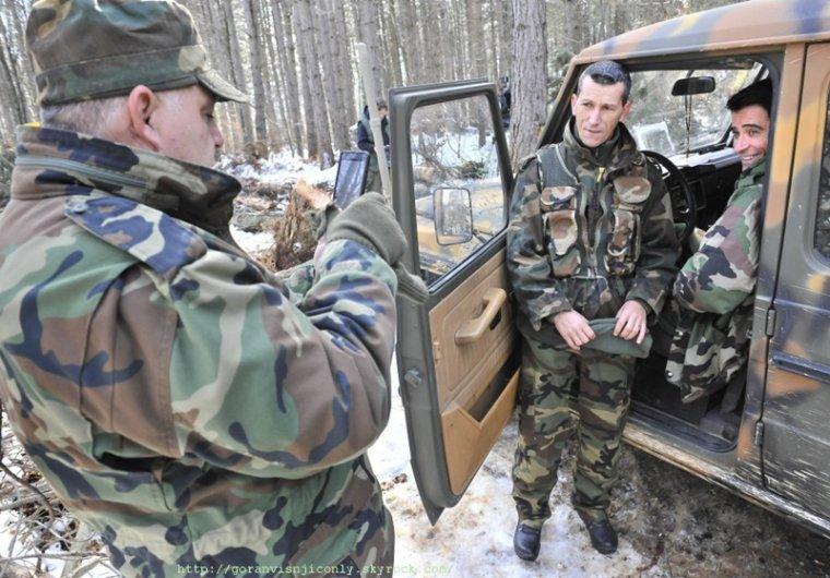 Photos de tournage pour General à Livno suite # 2