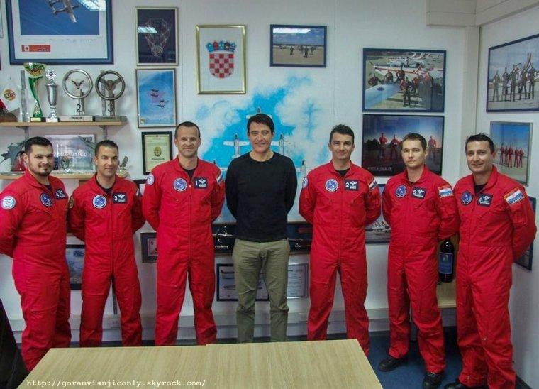 Goran à la base aérienne de Zemunik #1