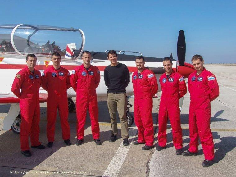 Goran à la base aérienne de Zemunik # 2