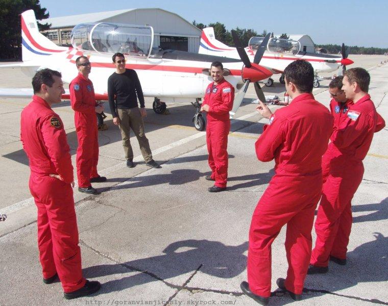 Goran à la base aérienne de Zemunik # 3