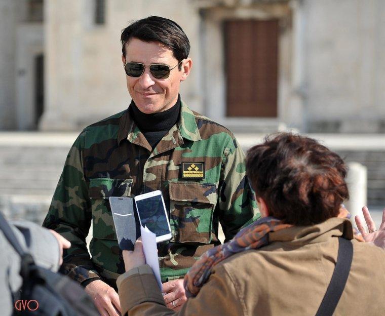 Photos de tournage à Zadar ,Croatie pour General # 4