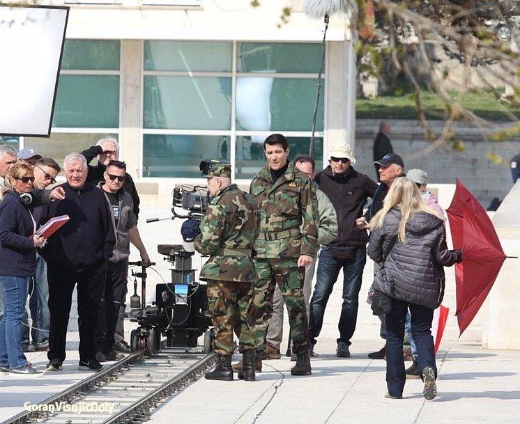 Photos de tournage à Zadar ,Croatie pour General # 5