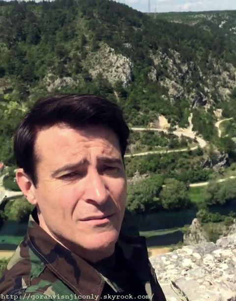 la vidéo instagram de Goran près de Knin Croatie