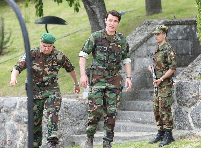 Photos de tournage pour General à Knin #2