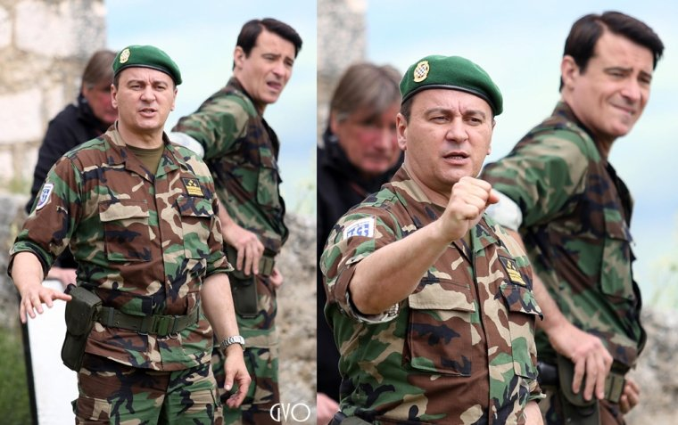 Photos de tournage pour General à Knin #3