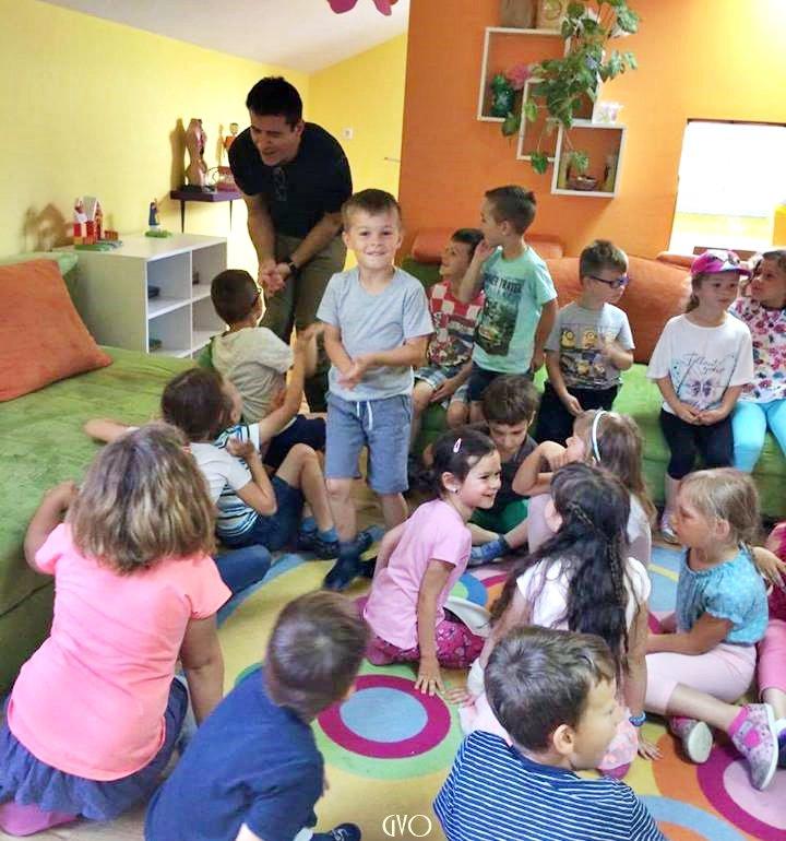 Goran en visite dans une école #2