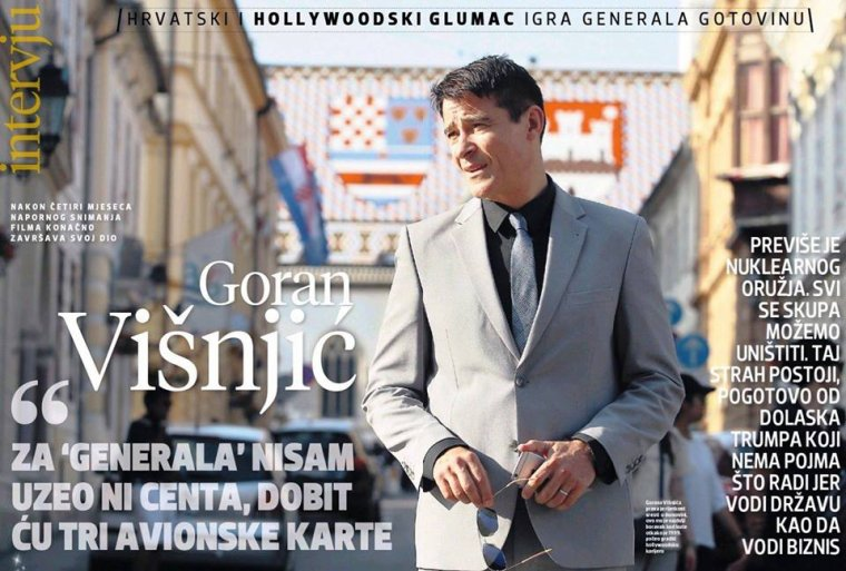 Goran pour un magazine croate