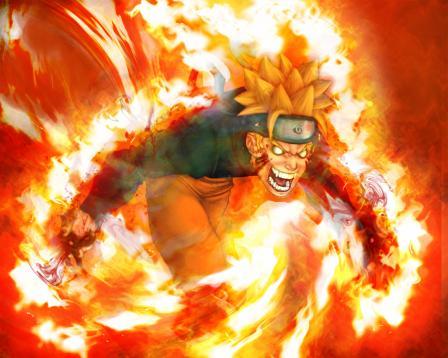 Naruto est le d mon renard xx mangas2008 xx - Coloriages naruto demon renard ...