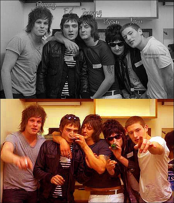 .  DOSSIER -- Vous souvenez-vous du groupe de Rock de Ed, The Filthy Youth...? . . The Filthy Youth -qui signifie la jeunesse grossière en français- est un groupe de rock anglais/indie à influences comme: Xtc/Weller/The Rakes/The Hives/The Rolling Stones/The Doors/The Clash/Babyshambles ou encore The Libertines, formé à Londres en 2006. Le groupe est composé de six membres dont Ed Westwick qui en est le leader (Chanteur et parolier), Benny Lewis Allington (Guitariste), Jimmy Wright (Guitariste), Tom Bastiani- appelé Basti (Bassiste) et John Vooght (Batteur). «Ne cherchez pas, The Filty Youth ne ressemble à rien de se que vous auriez pu écouter auparavant normalement !» affirme la bande sur myspace.   -  -«Et au lieu d'entendre des voix coincées quelque part entre l'adolescence et la muée, de riffs mal foutus ne sachant couvrir (l'horrible) voix cinglante, de paroles d'adolescents boutonneux suicidaires et à donner envie de sacrifier des poulets, j'ai entendu… quelque chose de très prometteur, qui n'a rien à voir avec 30 Seconds to Mars, le groupe de Jared Leto qui m'a donné des envies de flagellation. Bref, j'ai entendu de la musique. En même temps, j'aurais du m'en douter – Jared Leto est américain, et Ed Westwick british. Hors ces deux cultures n'ont pas la même façon de vouloir satisfaire la jeunesse.» Melty.fr Malheureusement le groupe The Filthy Youth est aujourd'hui en suspend, Ed préférant se concentrer sur sa carrière d'acteur aux US pour le moment.     .  ◊ MYSPACE DU GROUPE// PAGE FACEBOOK DU GROUPE. Aimes tu The Filthy Youth? Quelle est ta chanson préférée?