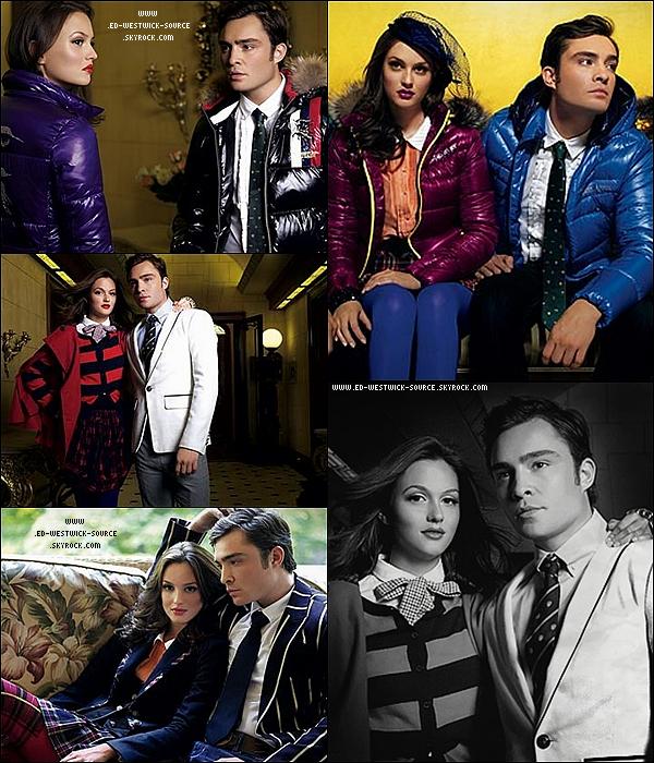 .  Photoshoot datant de 2009 de la marque de vêtements ASK ENQUIRED dont Ed et Leighton sont les égéries. .