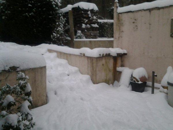 - La neige -