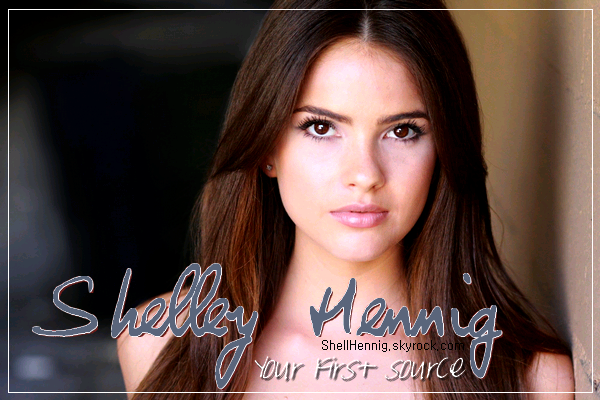. WWW.SHELLHENNIG.SKYROCK.COM  - Ta source #1 sur la belle Shelley Hennig!