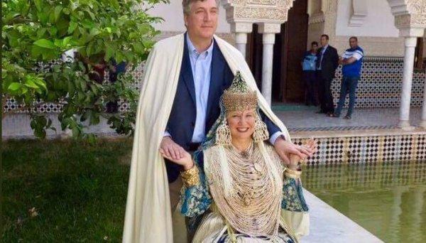 L'ambassadeur US John Desrocher en visite touristique à Tlemcen