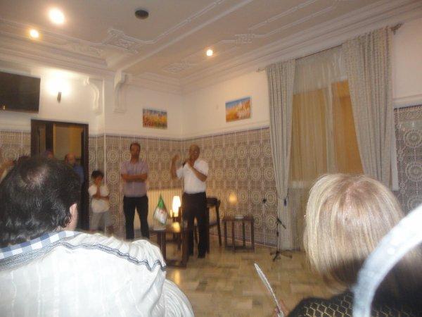 Yasmina Khadra dédicace son dernier roman « Khalil » à l'hôtel Grand Bassi