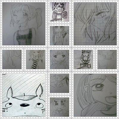Montage de mes quelques dessins