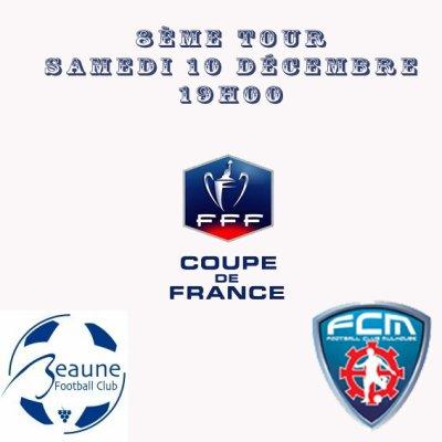 Coupe de France: FC Beaune - FCM