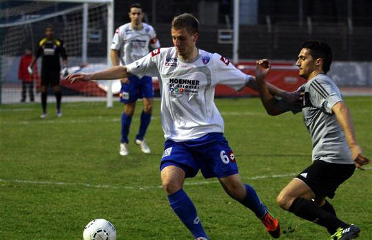 Le FC Mulhouse signe un superbe exploit à Bourg-Péronnas