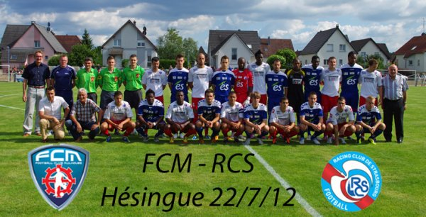 FCM-Racing terminé 3-2 pour le FCM