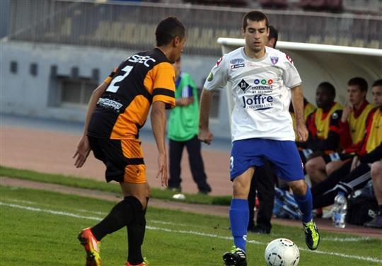 Jonathan Ellemaud s'éclate avec le FC Mulhouse