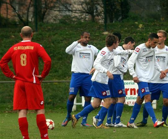 Une victoire et la place de leader pour le FC Mulhouse (3-0)
