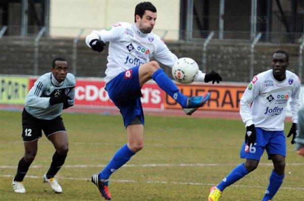 CFA Le FC Mulhouse rate le coche face à Moulins (0-2)