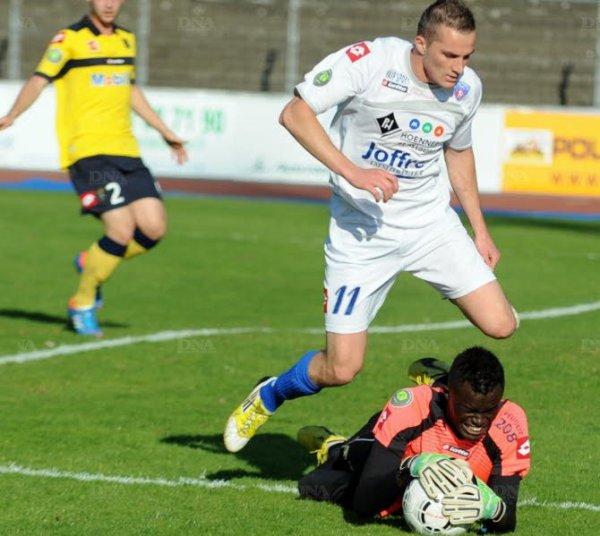 Un chantier bien avancé, l'attaquant mulhousien Dimitri Liénard la saison prochaine au Racing club de Strasbourg