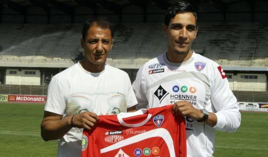 Lahcen Mounass est la première recrue du FC Mulhouse