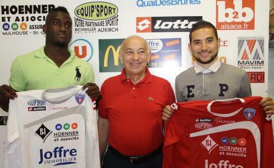 Farez Brahmia et Siegfried Aissi Kede ont signé