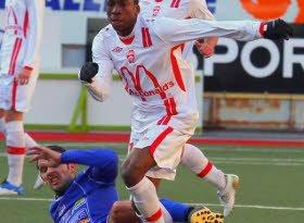 FC Mulhouse Loïc Baal marque deux buts et des points