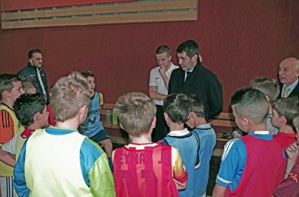 Rencontre avec Jean ROTTNER au Centre Sportif Régional
