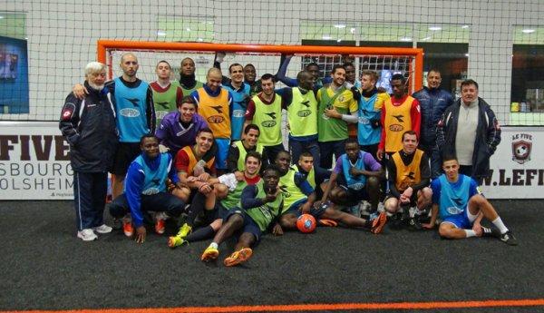 Journée Futsal au FIVE à Mundolsheim