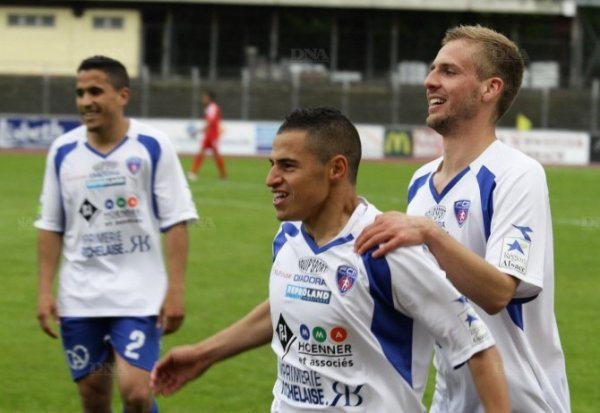 ]Football CFA : FC Mulhouse – Montceau (5-2) - Football Succès et maintien