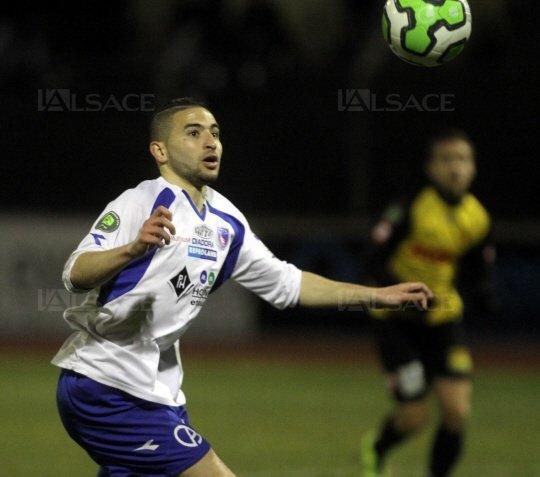 Farez Brahmia 14/08/2014 10:19 - FC Mulhouse - CHAMPIONNAT