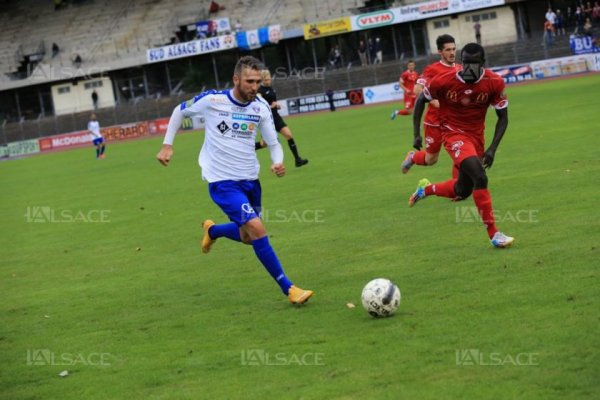 Football Match nul pour le FC Mulhouse
