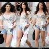 La belle Shenae Grimes se promenant dans New-York , Que pensez-vous se sa tenue ?