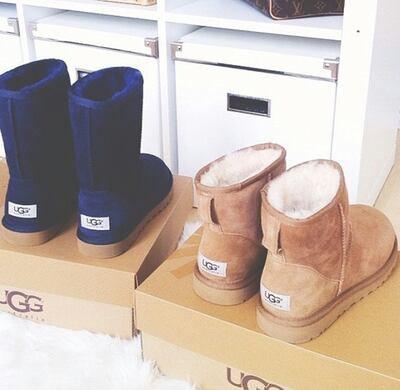 Les bottes UGGS