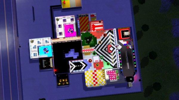 Secret Story Sims Saison 1 - La Maison de haut