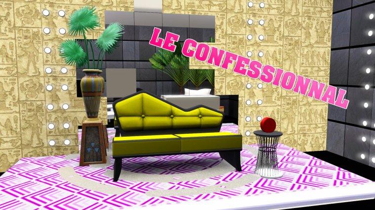 Secret Story Sims Saison 2 - Première pièce dévoilée !!!