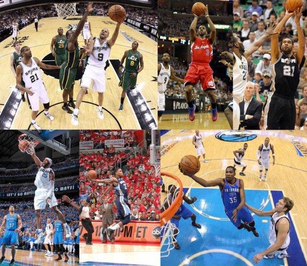 Playoffs 2012 : 1er Tour Ouest